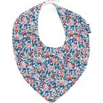 bandana bib flowered london - PPMC