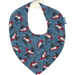 bandana bib flowered night - PPMC