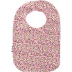 Bib - Baby size pink jasmine - PPMC
