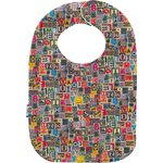 Bib - Baby size multi letters - PPMC