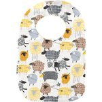 Bib - Baby size yellow sheep - PPMC