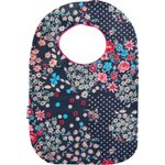 Bib - Baby size silvery rose - PPMC