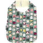 Bib - Child size animals cube - PPMC