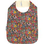 Bib - Child size multi letters - PPMC