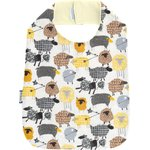 Bib - Child size yellow sheep - PPMC