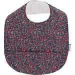 Coated fabric bib camelias rubis - PPMC