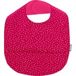 Coated fabric bib etoile or fuchsia - PPMC