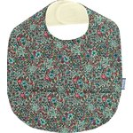 Coated fabric bib flower mentholated - PPMC