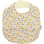 Coated fabric bib pastel drops - PPMC