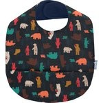 Coated fabric bib grizzly - PPMC