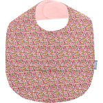 Babero plastificado jazmín rosa - PPMC