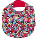 Coated fabric bib kokeshis - PPMC