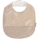 Coated fabric bib pink coppers spots - PPMC