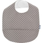 Coated fabric bib light grey spots - PPMC