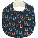 Coated fabric bib poules en ciel - PPMC