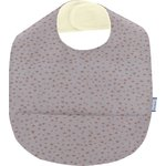 Coated fabric bib triangle cuivré gris - PPMC