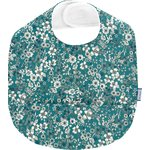 Coated fabric bib celadon violette - PPMC