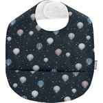 Coated fabric bib heavenly journey - PPMC