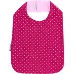 Bib - Child size fuschia spots - PPMC