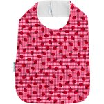 Bib - Child size ladybird gingham - PPMC