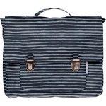 Kids backpack striped silver dark blue - PPMC