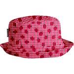 Rain hat - Size 2 ladybird gingham - PPMC