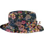 sombrero de lluvia ajustable T2  dalhia rosa marino - PPMC