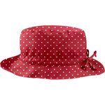 Rain hat adjustable-size 2  red spots - PPMC