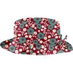 Chapeau pluie ajustable T3 cerisier rubis jade - PPMC