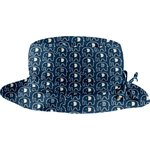 Rain hat adjustable-size T3 blue elephant - PPMC