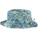 Rain hat adjustable-size T3 blue forest - PPMC