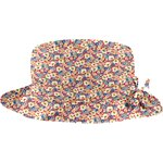 Rain hat adjustable-size T3 carnations jeans - PPMC