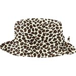 Rain hat adjustable-size T3 leopard print - PPMC