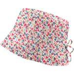 Chapeau de soleil ajustable T1 à T2 tulipe bleue rose - PPMC