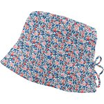 Sun hat adjustable-size T2 flowered london - PPMC
