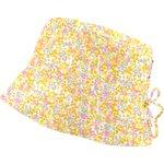 Sun hat adjustable-size T2 mimosa jaune rose - PPMC