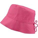 Chapeau de soleil ajustable T3 etoile or fuchsia - PPMC