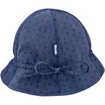 Sun Hat for baby blue english embroidery - PPMC