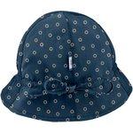 Sun Hat for baby bulle bronze marine - PPMC
