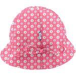 Chapeau soleil charlotte ajustable  fleurette blush - PPMC