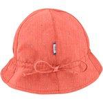 Sun Hat for baby gaze dentelle corail - PPMC
