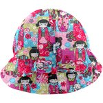 Adjustable baby sun hat kokeshis - PPMC