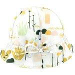 Chapeau soleil charlotte lapin vert d'eau - PPMC