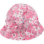 Chapeau soleil charlotte violette rose - PPMC