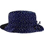 Rain hat adjustable-size 2  navy gold star - PPMC