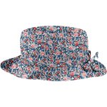 Rain hat adjustable-size 2  flowered london - PPMC