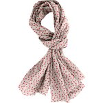 Shawl red flower - PPMC
