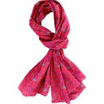 Shawl red folk - PPMC
