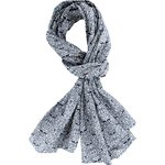 Shawl scandinave navy blue - PPMC