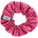 Small scrunchie fuchsia gold star - PPMC